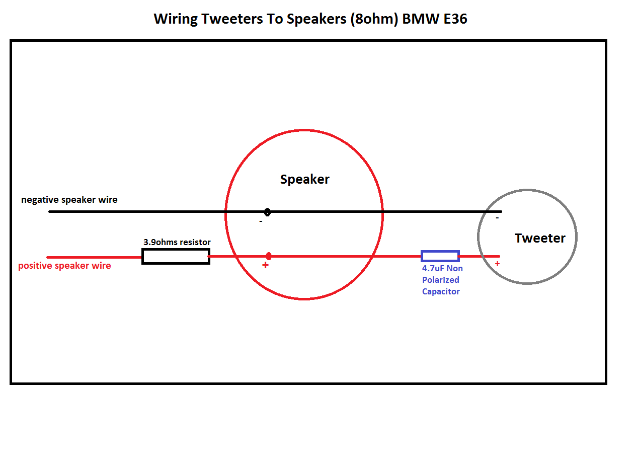 Need Help Adding Tweeters To Speakers - Diyaudio - Tweeter Wiring Diagram