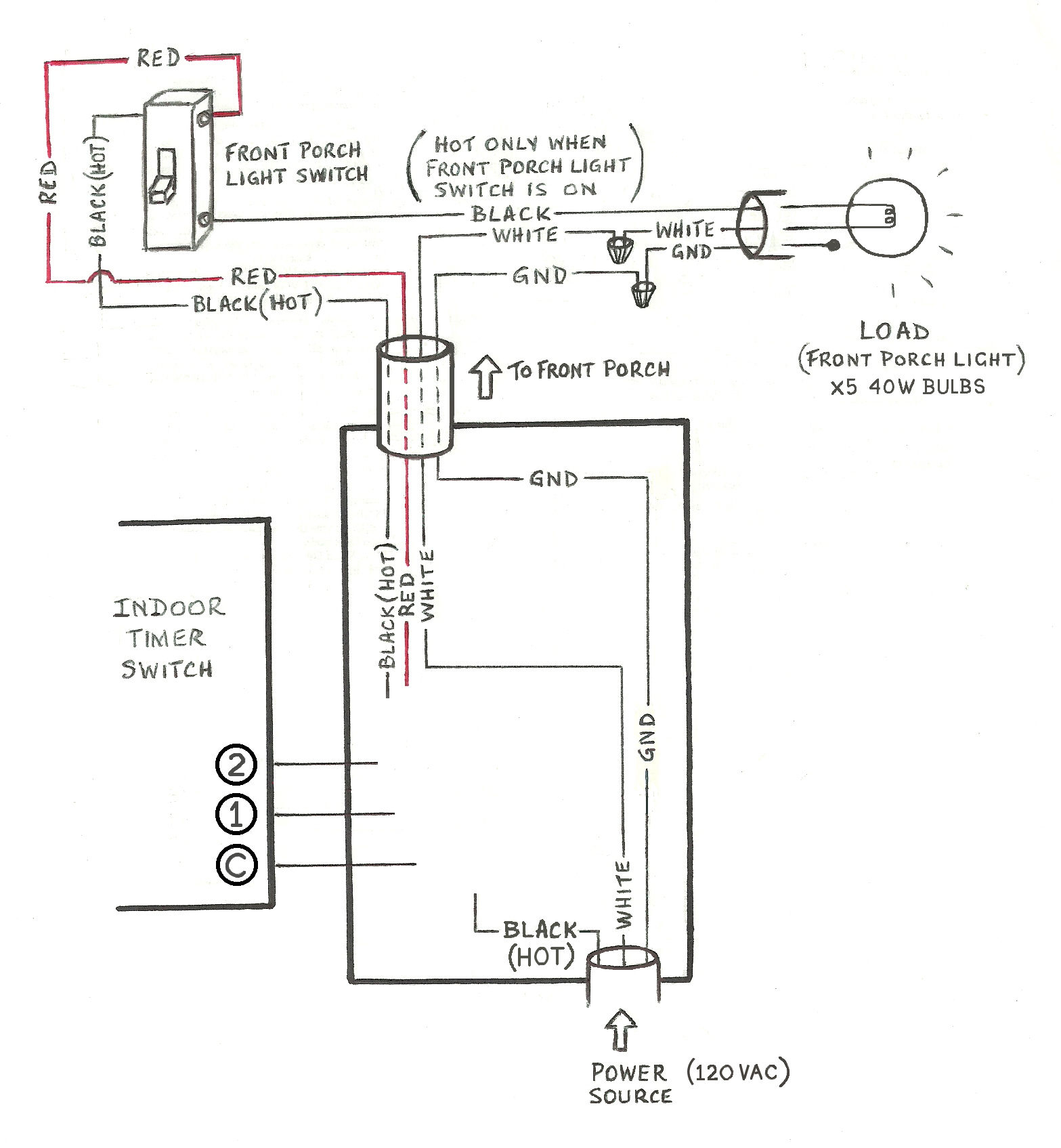 Need Help Wiring A 3-Way Honeywell Digital Timer Switch - Home - Switch Wiring Diagram