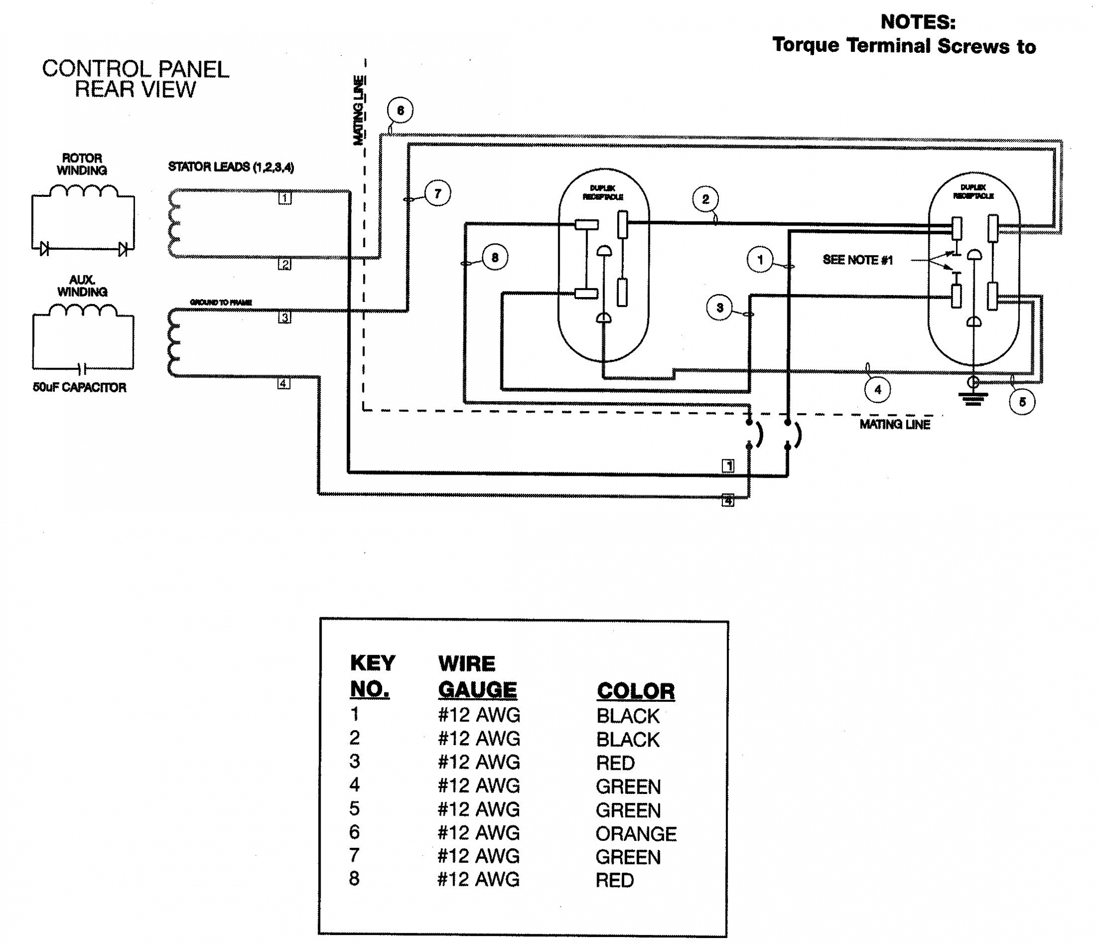 4 Prong Generator Plug Wiring Diagram | Wiring Diagram