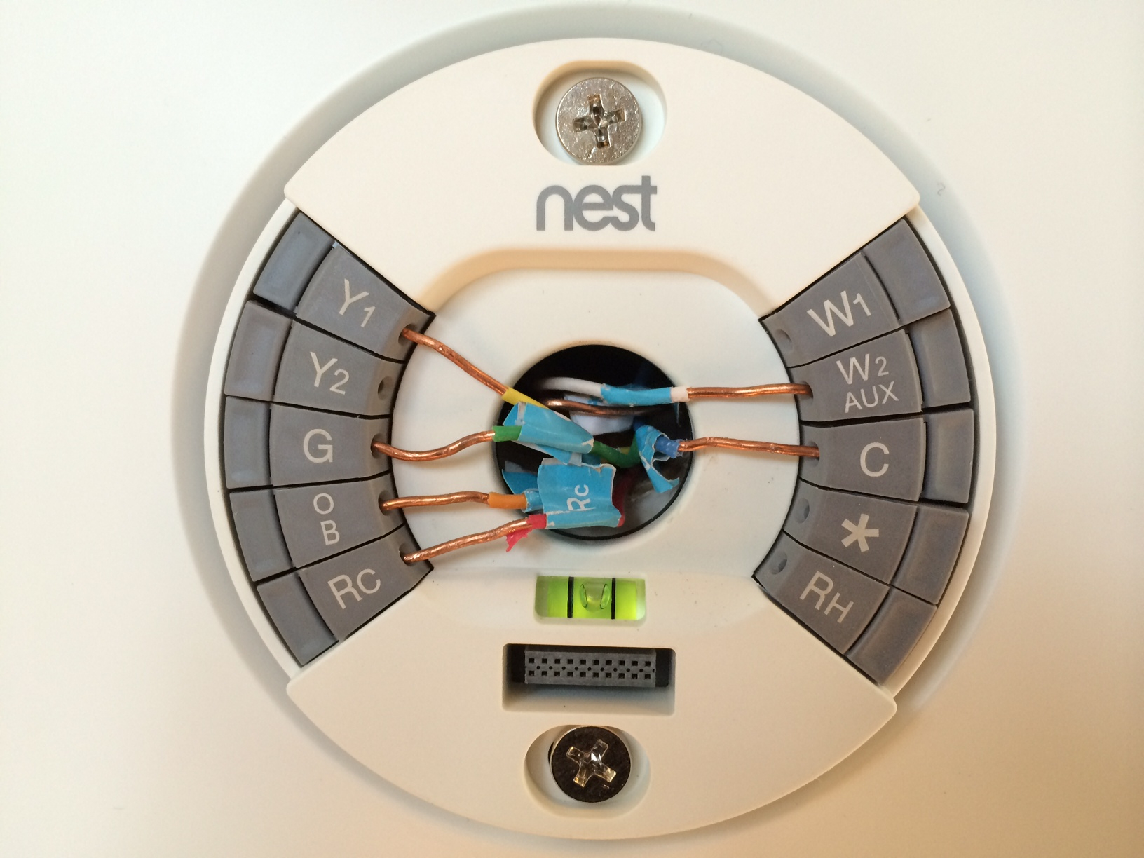 Nest Thermostat Wiring Diagram For Furnace And Air Conditioning - Nest Thermostat Wiring Diagram Heat Pump