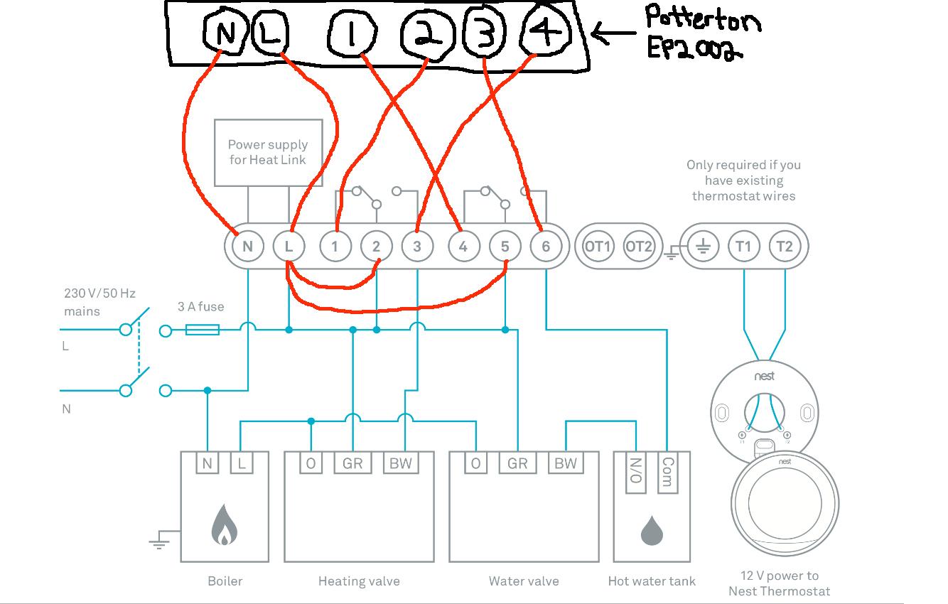Nest Wiring Diagram | Manual E-Books - Nest Wiring Diagram
