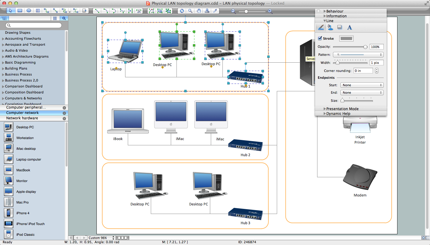 Network Printer | Quickly Create High-Quality Network Printer - Network Wiring Diagram