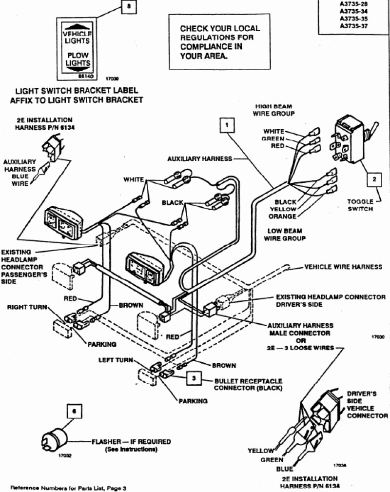 Nice Boss Rt3 Wiring Harness Diagram 8772 For Plow - Newstongjl - Boss V Plow Wiring Diagram