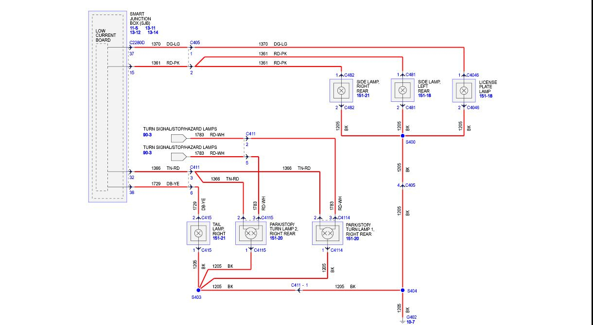 Nova Tail Light Wire Diagram 3 | Wiring Diagram - Stop/turn/tail Light Wiring Diagram