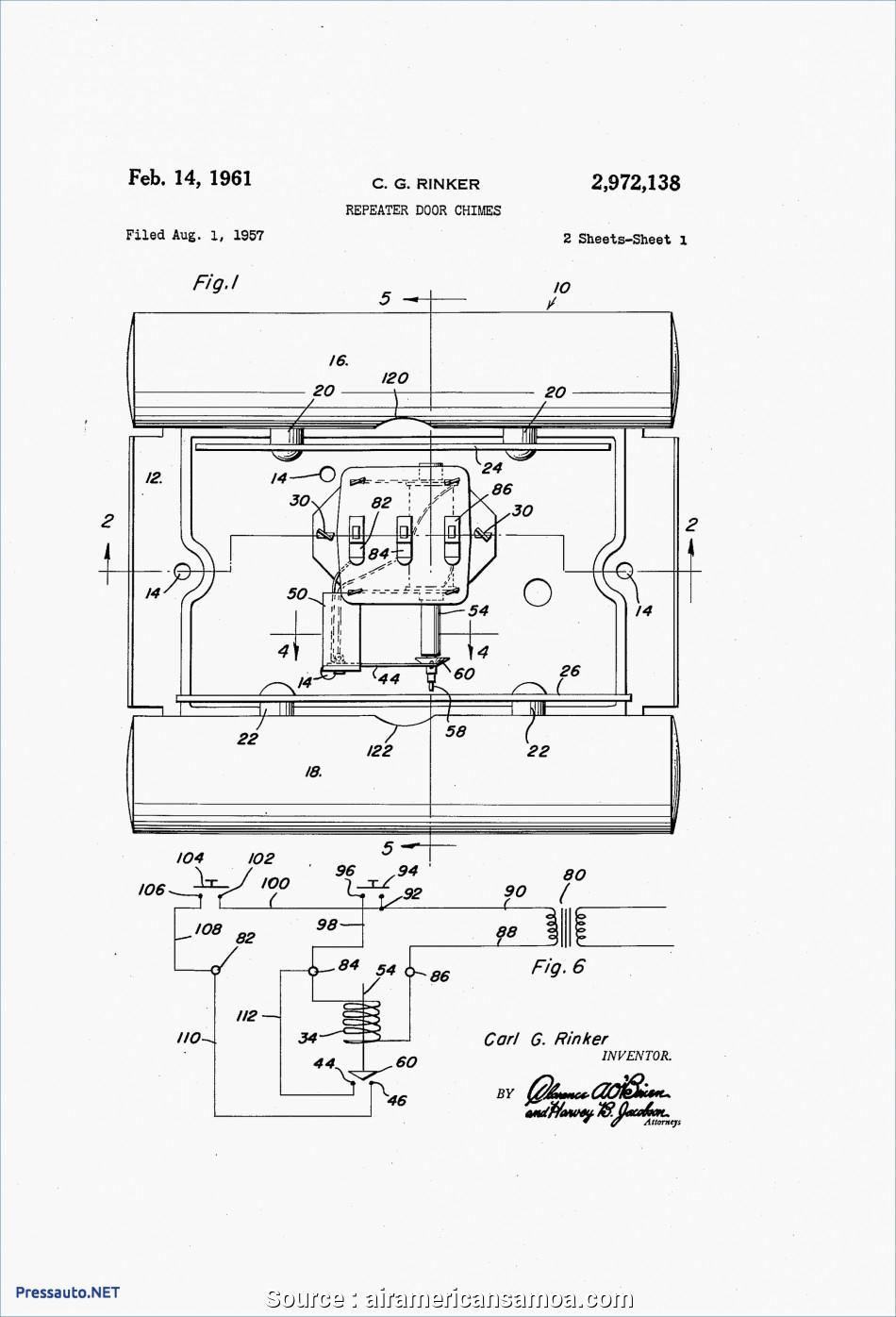 Nutone Doorbell Wiring Diagram