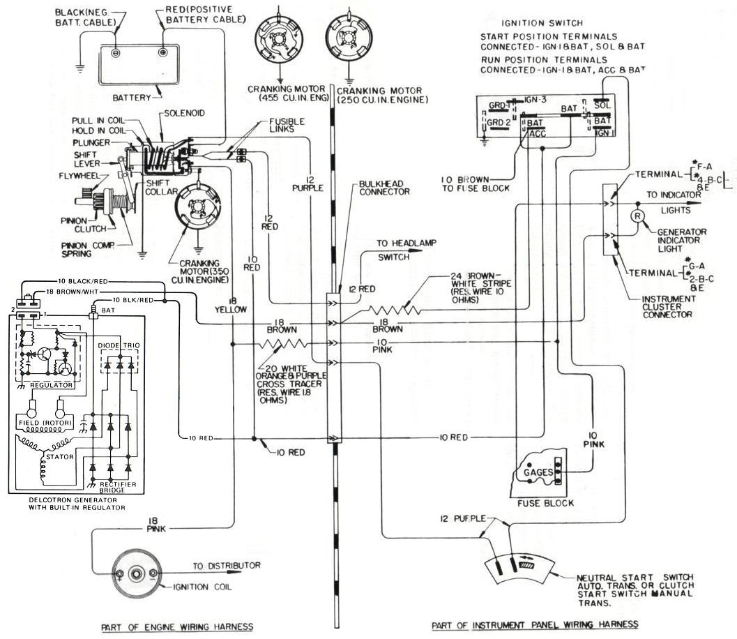 Older Alternator Wiring Diagram With Internal Regulator | Manual E-Books - Alternator Wiring Diagram Internal Regulator