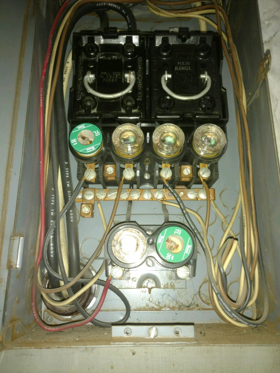Older Fuse Box | Wiring Diagram - Boat Fuse Panel Wiring Diagram