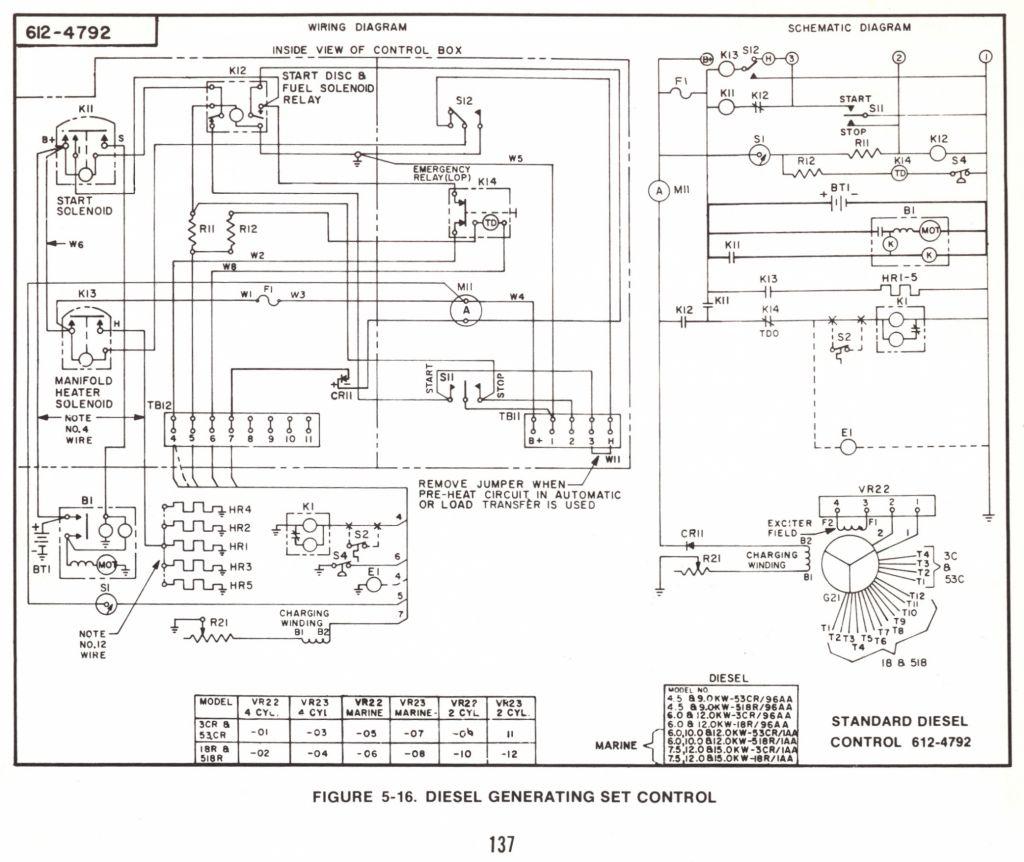 Onan Emerald 1 Genset Wiring Diagram Manual Guide