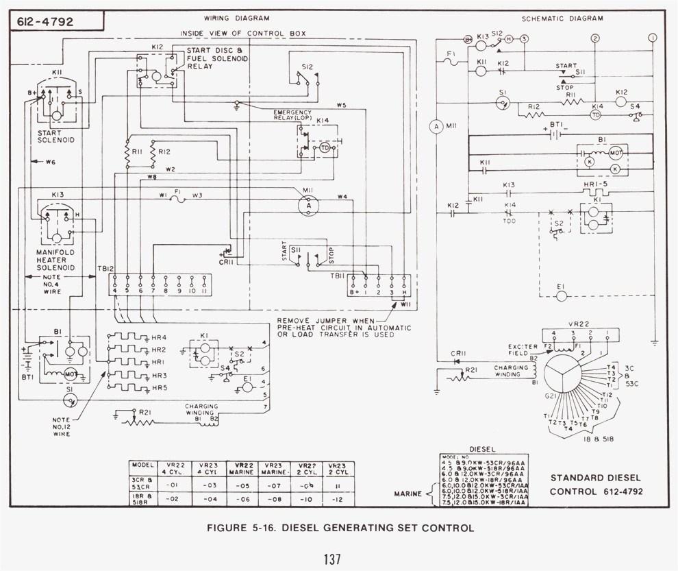 Onan Generator Wiring Diagram 0611 1271 | Wiring Diagram - Onan Generator Wiring Diagram