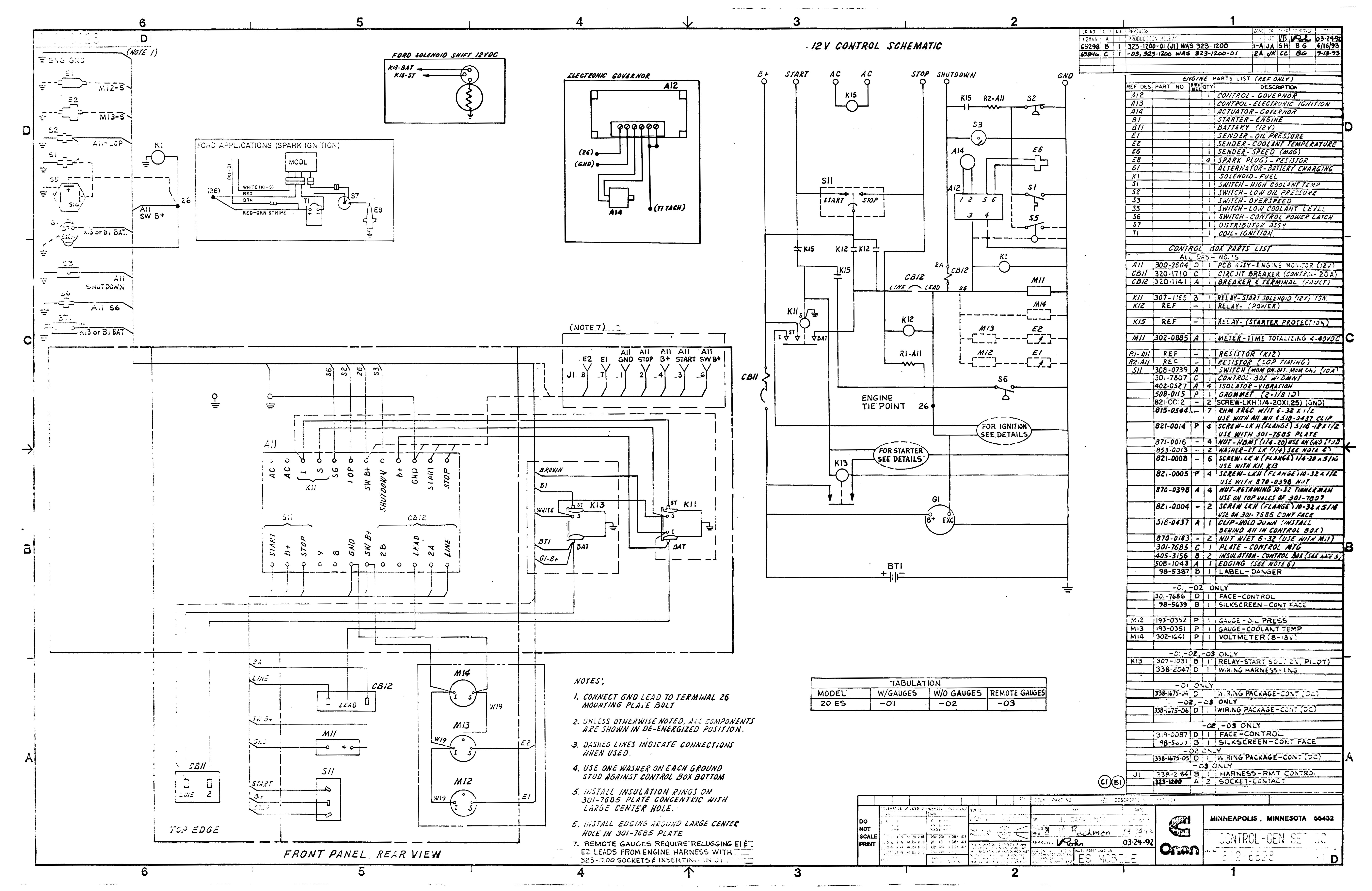 Onan Wiring Schematic - Data Wiring Diagram Schematic - Onan Generator Wiring Diagram