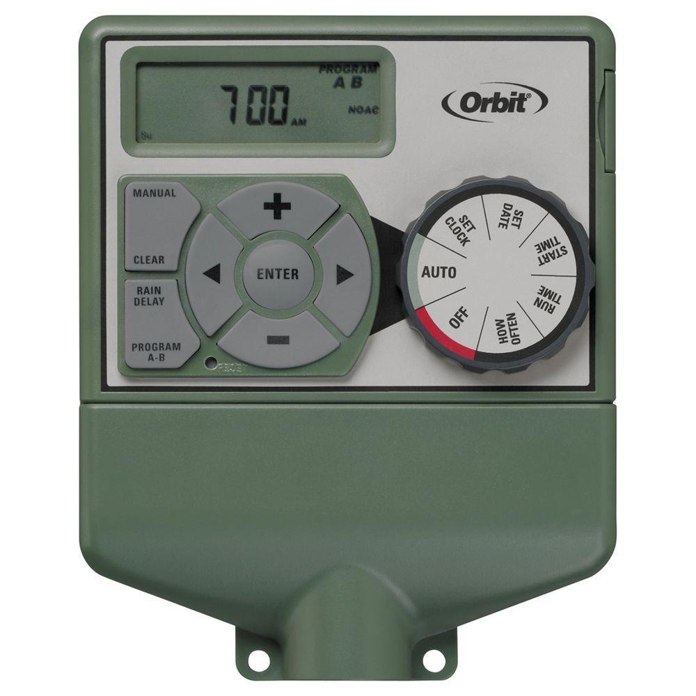 Orbit 6 Station Easy Dial Sprinkler Timer 57876 Manual Guide