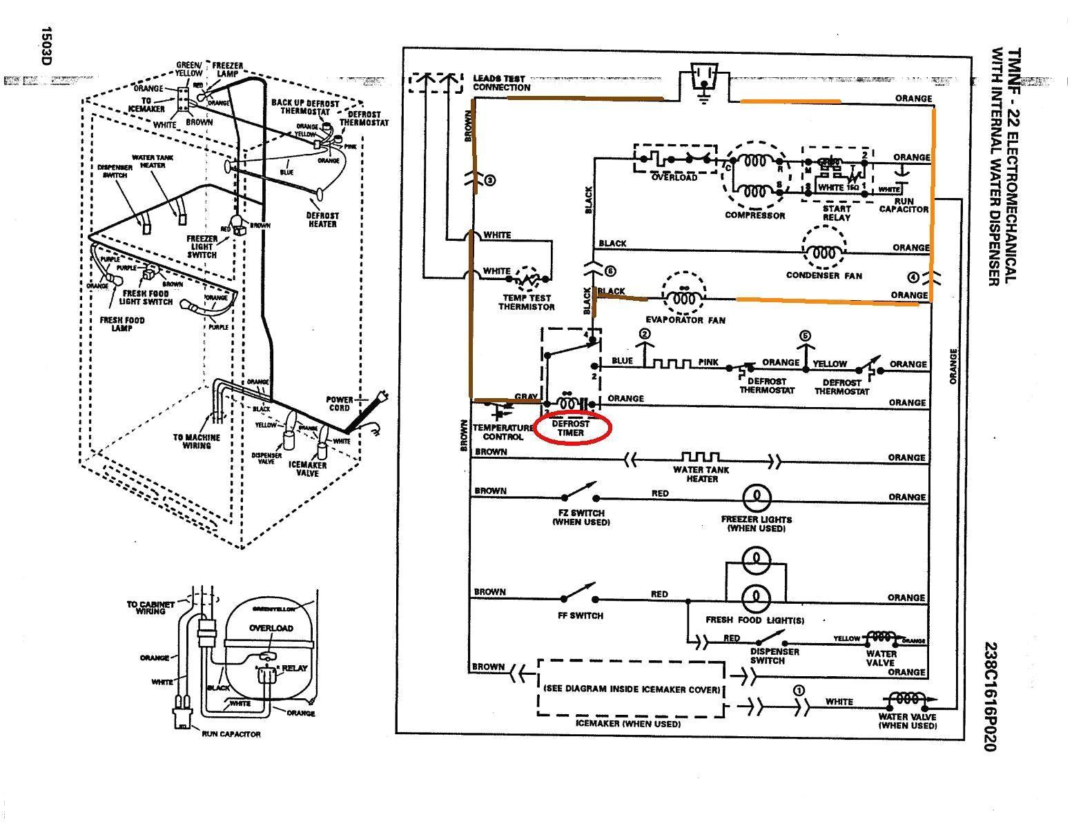 Panasonic Refrigerator Wiring Diagram | Wiring Diagram - Refrigerator Wiring Diagram