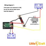 Panel Mount Digital Volt & Amp Mete (End 7/13/2020 10:32 Am)   Digital Volt Amp Meter Wiring Diagram