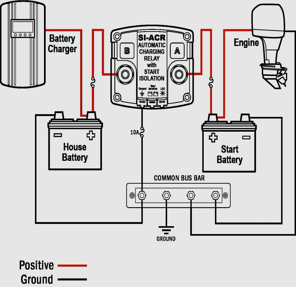 Perko Dual Battery Wiring Diagram - Data Wiring Diagram Schematic - Boat Battery Switch Wiring Diagram