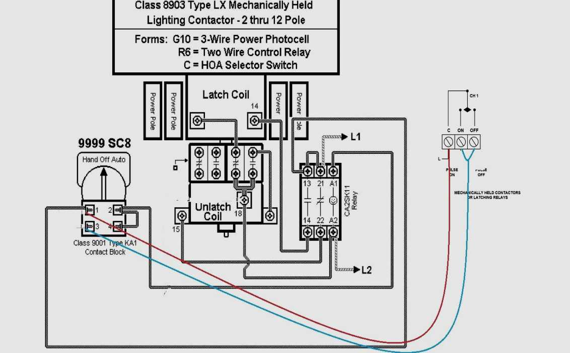 Photocell Lighting Contactor Wiring Diagram | Wiring Diagram - Photocell Switch Wiring Diagram