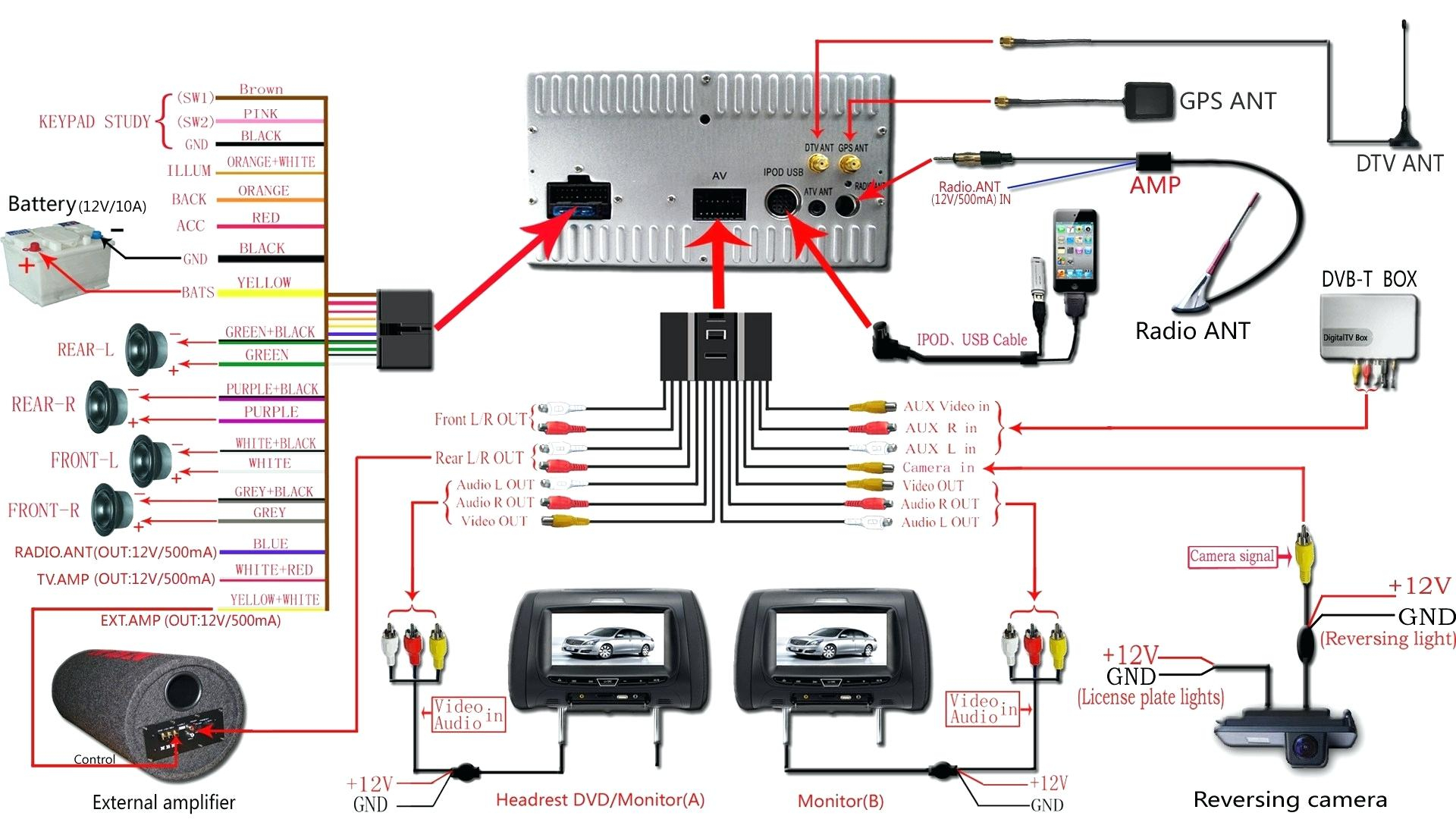 Pioneer Car Speaker Wiring Diagram - Free Wiring Diagram For You • - Car Speaker Wiring Diagram