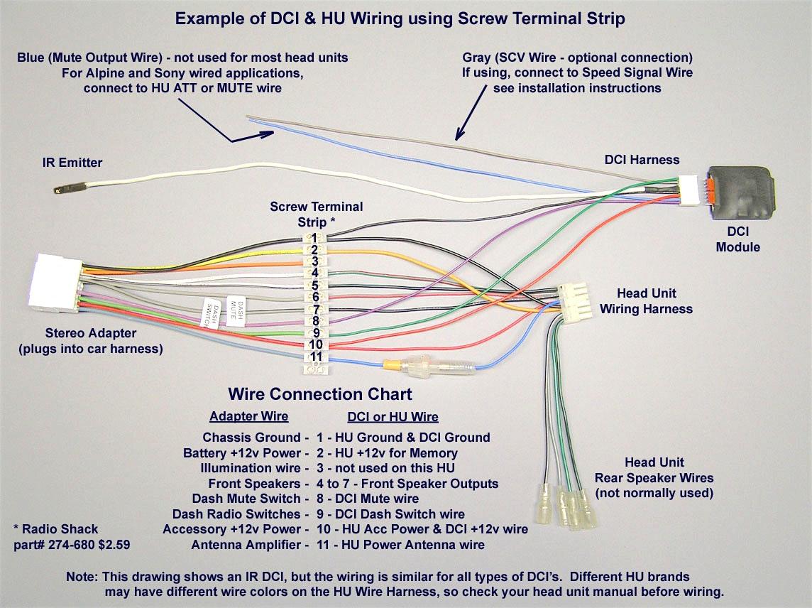 Pioneer Car Stereo Wiring Harness Diagram Mechanic S Corner - Wiring - Jvc Wiring Harness Diagram