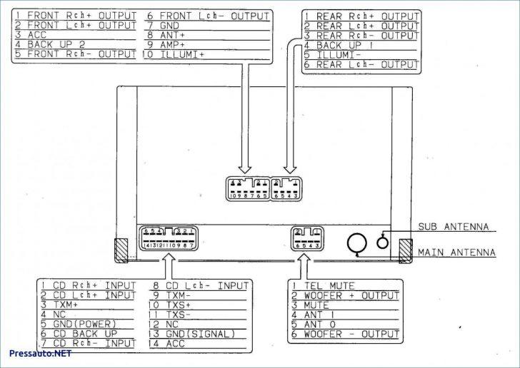 Pioneer Deh-X6700Bt Wiring Diagram