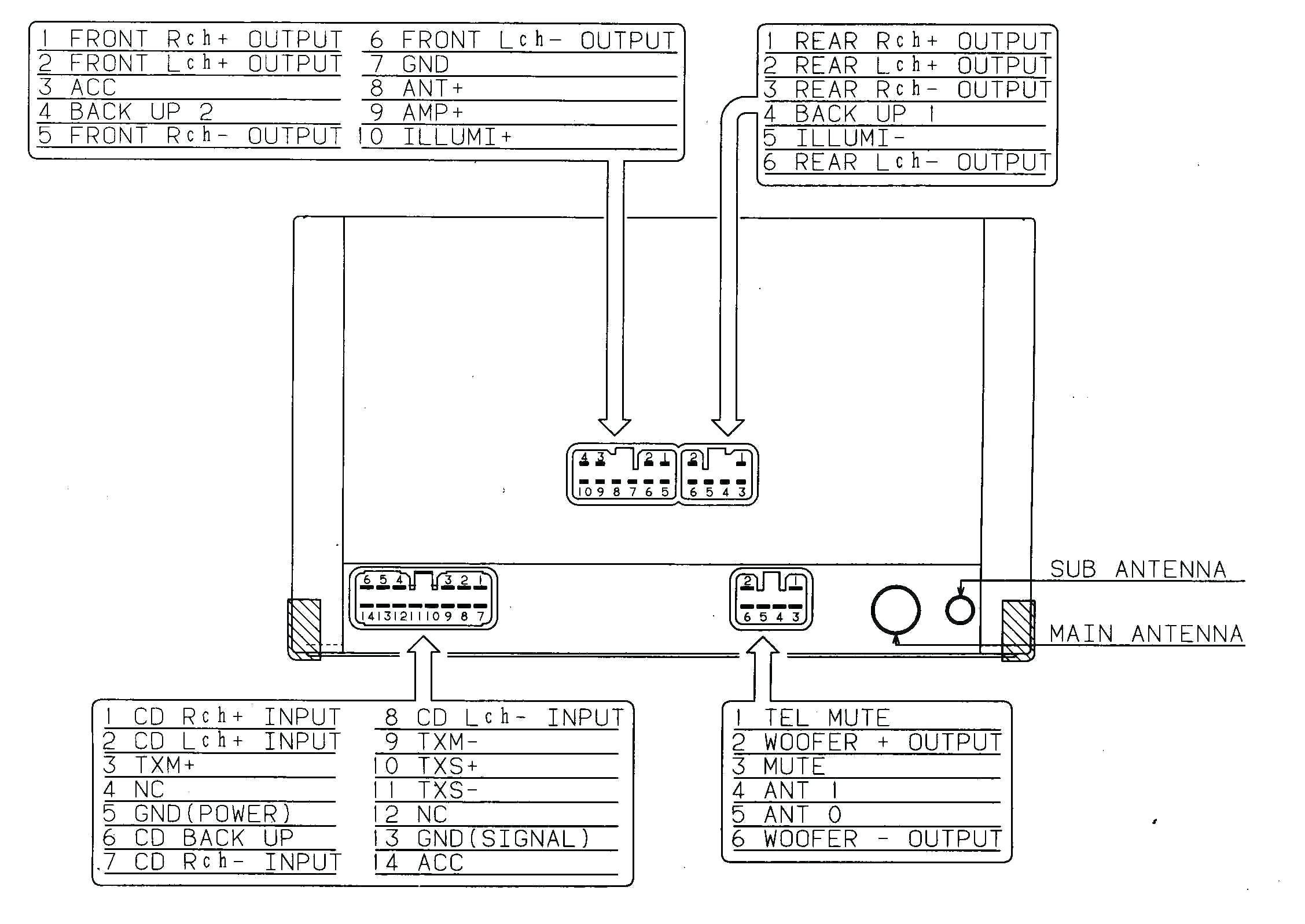 Pioneer Wiring Harness Diagram Fresh Wiring Diagram For A Pioneer - Pioneer Avh-280Bt Wiring Diagram