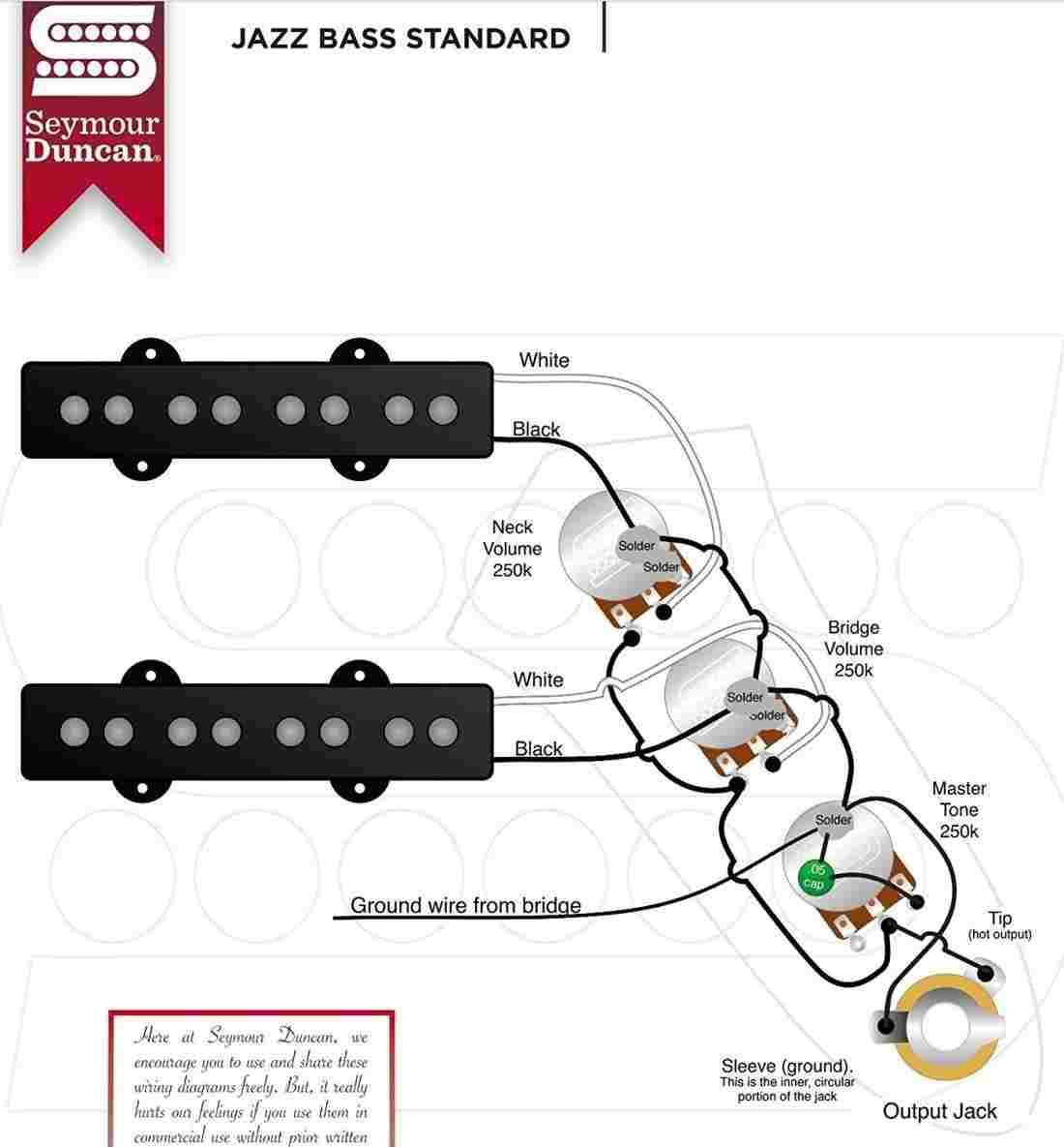 Pj Bass Wiring Diagram | Diagram Chart - Jazz Bass Wiring Diagram