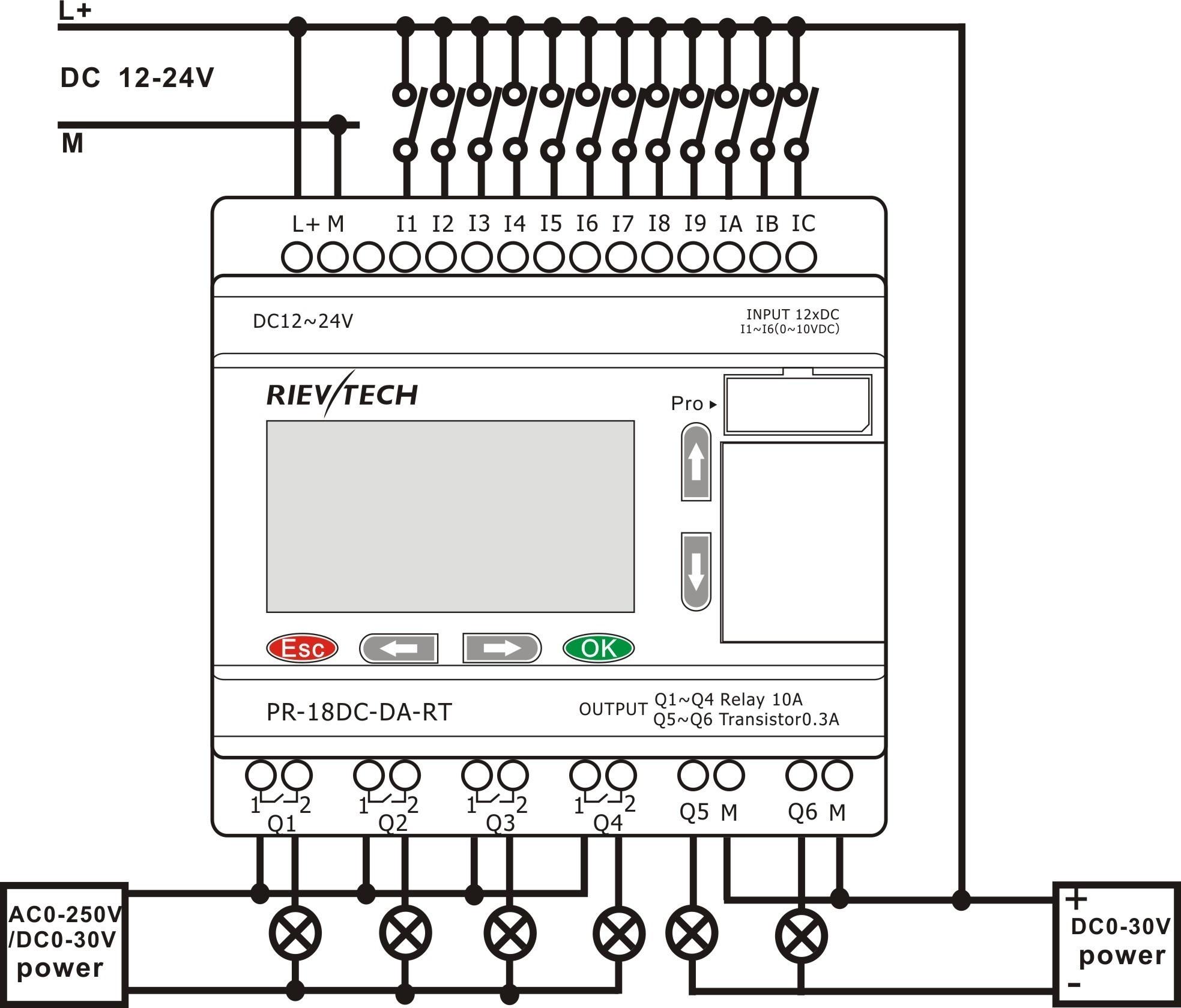 Plc Wiring Diagram Guide | Manual E-Books - Plc Wiring Diagram