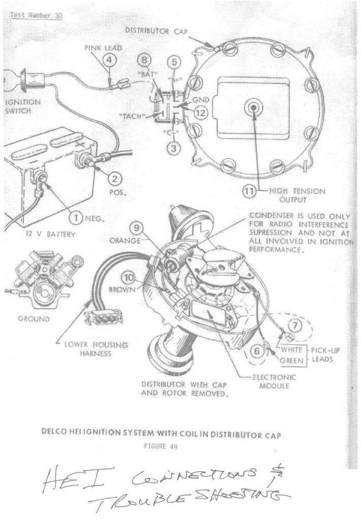Points Wire In Hei Conversion Wiring Diagram