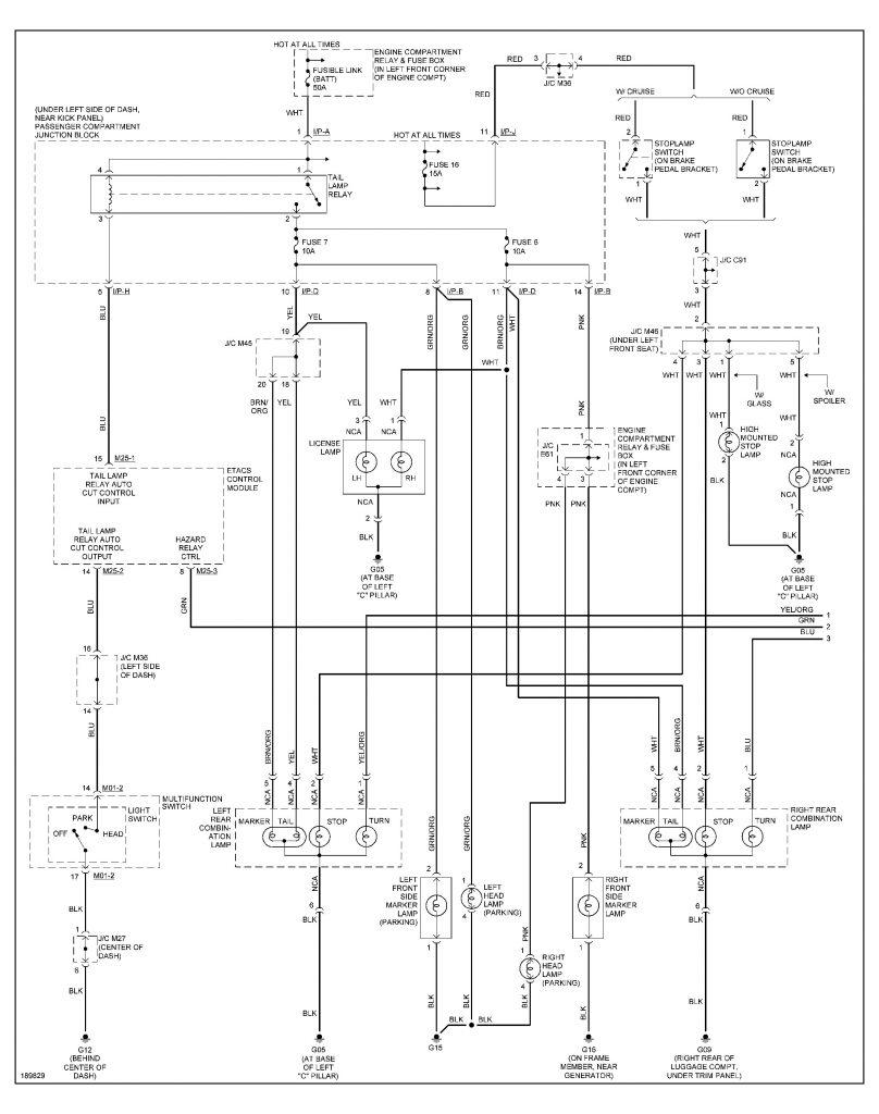 Power Acoustik In Dash Wiring Diagrams