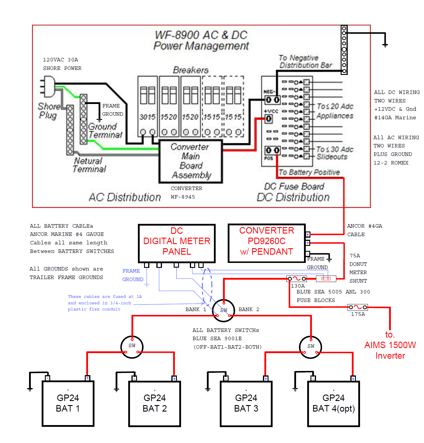 Power Converter Wiring Diagram | Wiring Diagram - Progressive Dynamics Power Converter Wiring Diagram