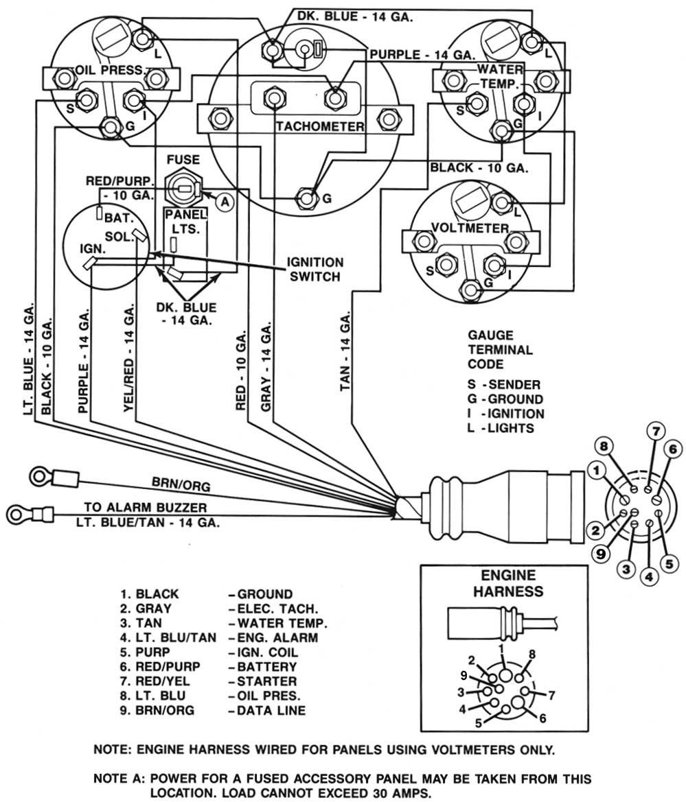 Pre Alpha Mercruiser Wiring Diagram - Smart Wiring Diagrams - Mercruiser Ignition Wiring Diagram