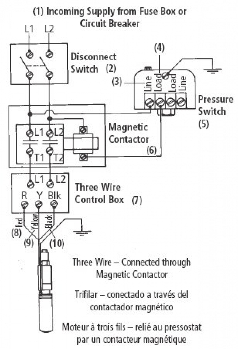 Pump Wiring Diagram – Volovets - Well Pump Wiring Diagram