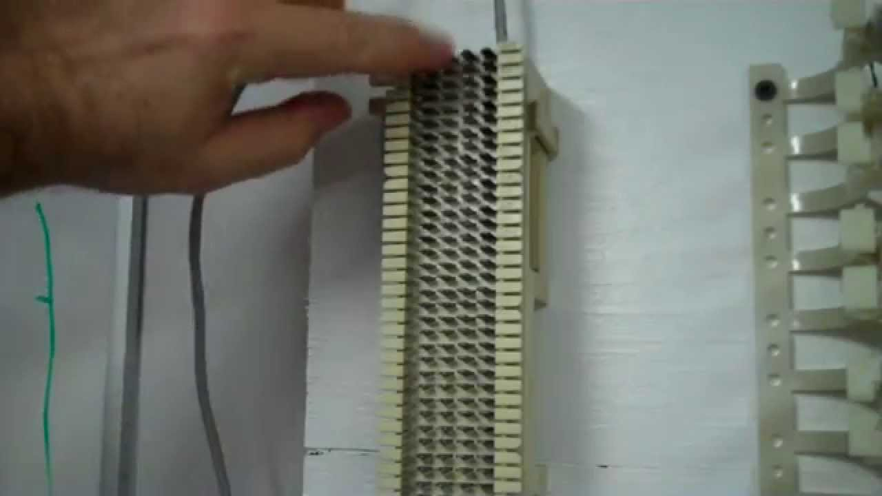 Punching Down 4-Pair Cable On 66 Block - Youtube - Telephone Punch Down Block Wiring Diagram