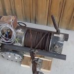 Ramsey Dc 200 8000 Lb Winch 12 Vdc In Operation   Youtube   Ramsey Winch Wiring Diagram