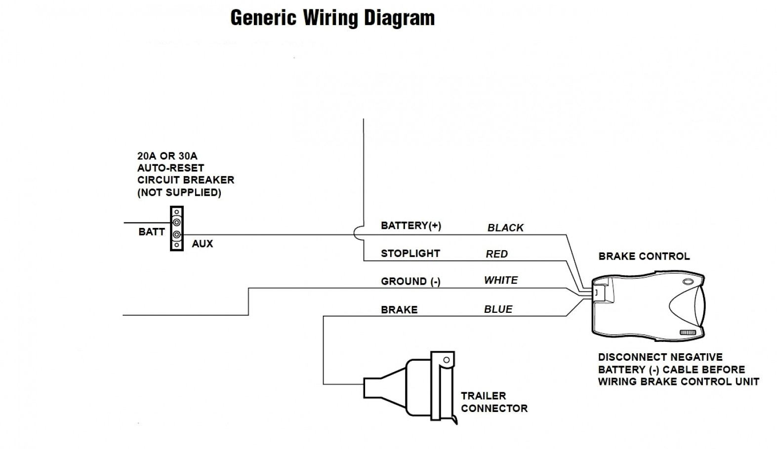 Redline Brake Controller Wiring Diagram Images Of - Brake Controller Wiring Diagram