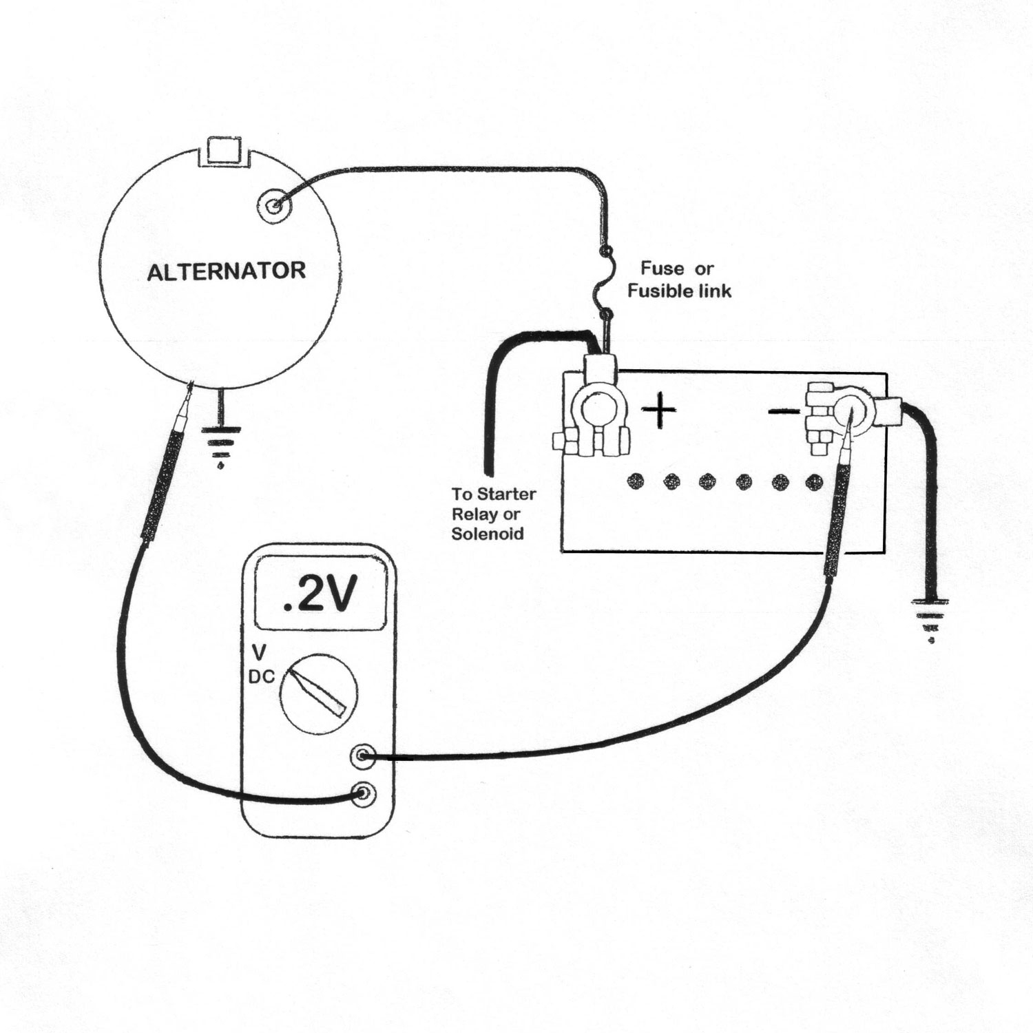 Reduce Warranties With Battery & Voltage Drop Tests | Napa Pro Series - Dual Alternator Wiring Diagram