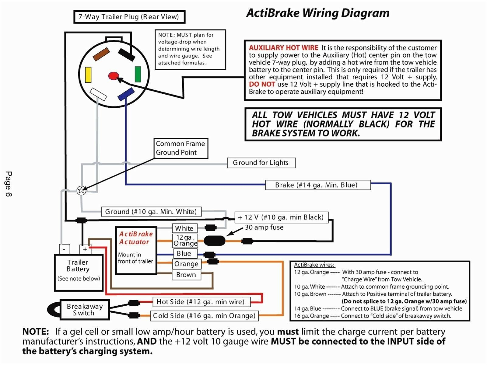 Reese Trailer Wiring Diagram - Schema Wiring Diagram - Trailer Brakes Wiring Diagram