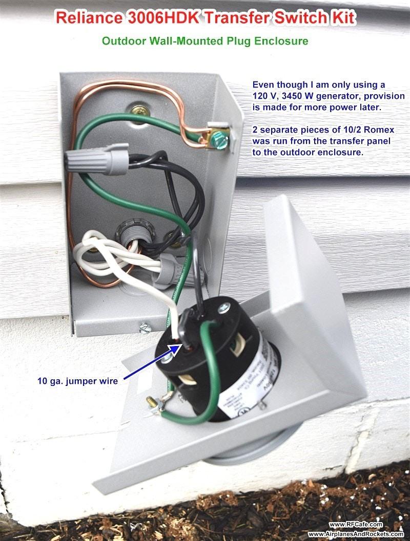 Reliance Transfer Switch Wiring Diagram   Manual E-Books - Reliance Generator Transfer Switch Wiring Diagram