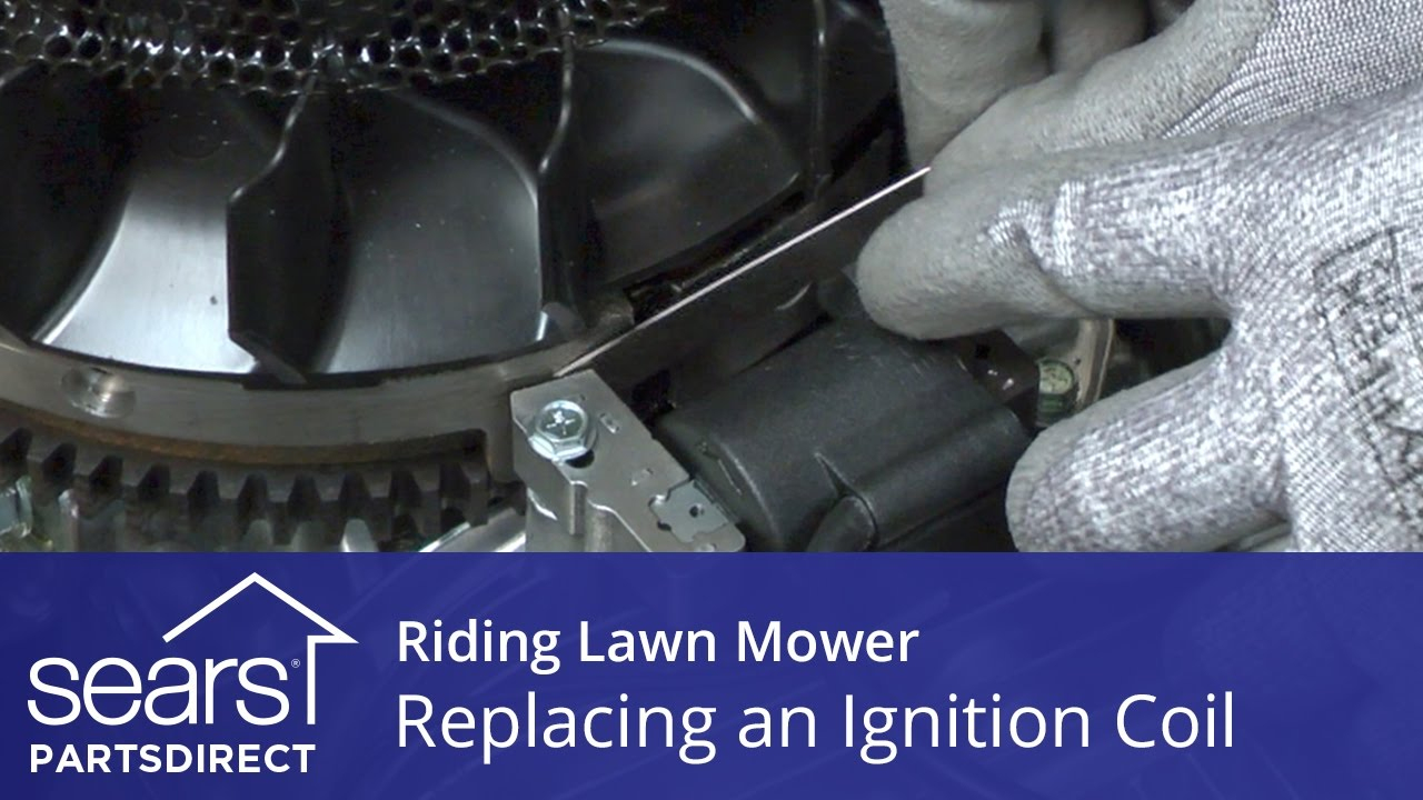 Replacing An Ignition Coil On A Riding Lawn Mower - Youtube - Kohler Command Wiring Diagram