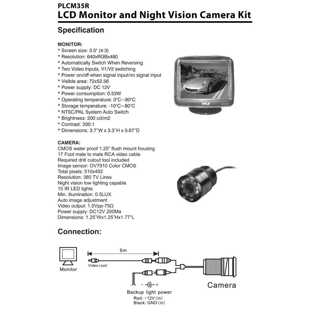 Reversing Camera Monitor Tft Lcd Wiring Diagram | Wiring Diagram - Tft Lcd Monitor Reversing Camera Wiring Diagram