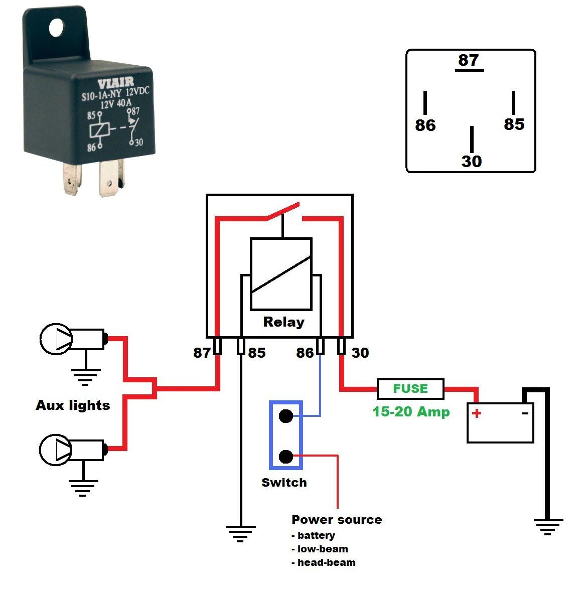 Rib Wiring Diagram | Wiring Library - Rib Relay Wiring Diagram