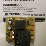 Rly02807 American Standard Trane Air Handler Fan Time Delay Relay   Air Handler Fan Relay Wiring Diagram