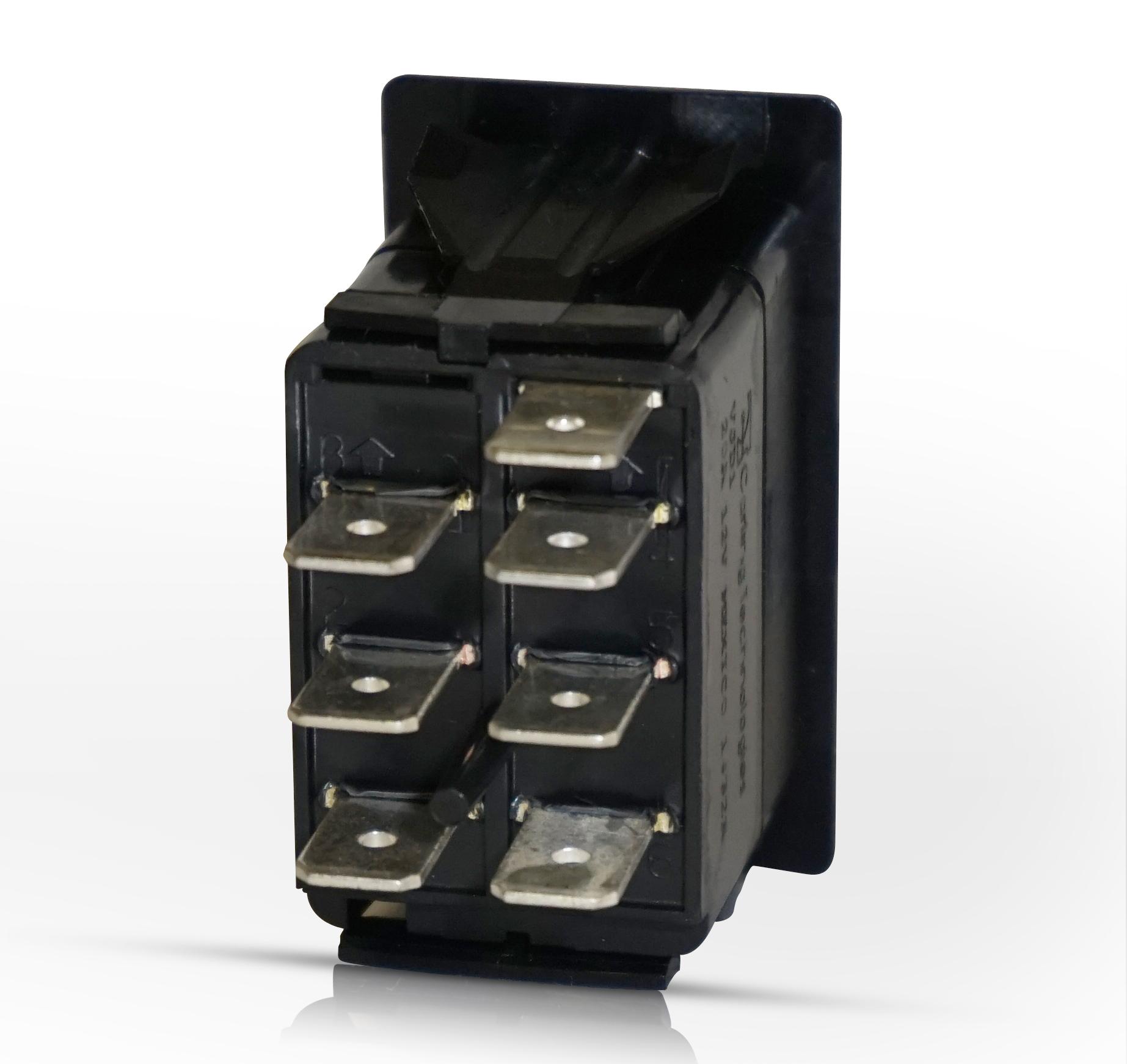 Rocker Switch | On-Off-On | Dpdt | 2 Dep Lights - Carling Rocker Switch Wiring Diagram