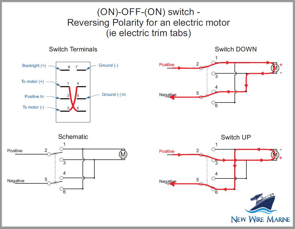 Rocker Switch Wiring Diagrams | New Wire Marine - Carling Rocker Switch Wiring Diagram