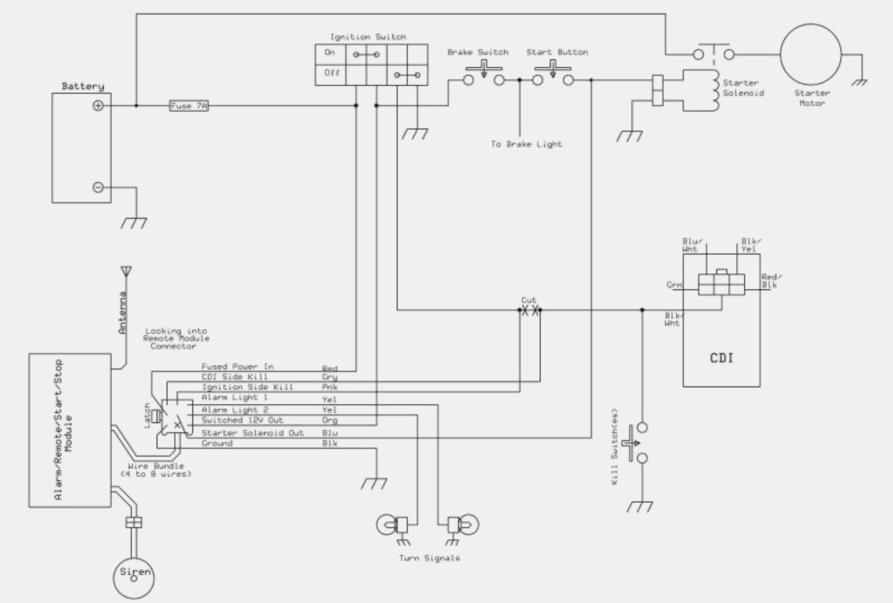 Rocketa Ignition Switch Wire Diagram Three | Wiring Diagram - Honda Gx390 Wiring Diagram