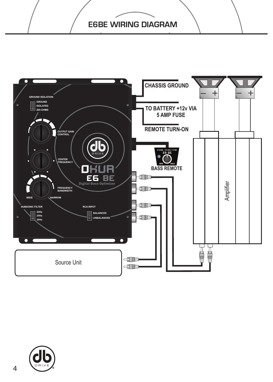 Rockville Wiring Diagram   Wiring Diagram - 2 Channel Amp Wiring Diagram