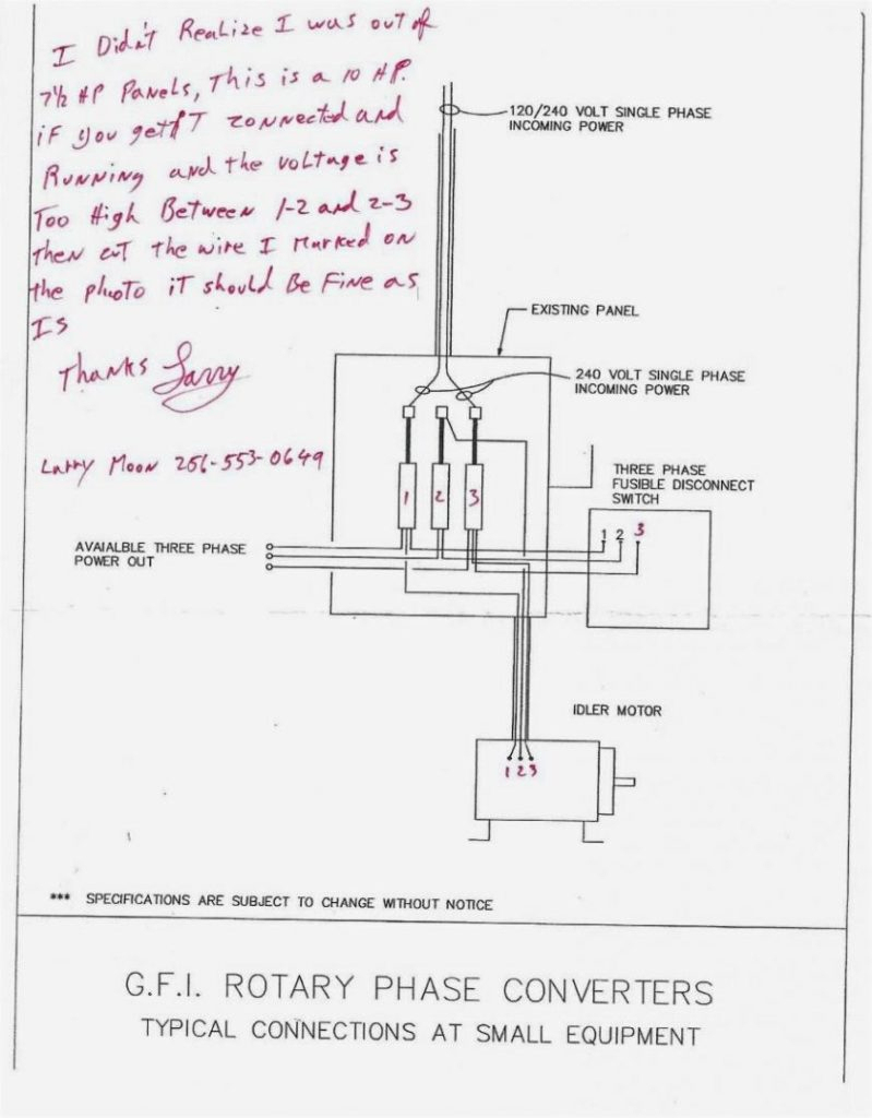 Ronk Roto Phase Wiring Diagram | Wiring Diagram - Rotary Phase Converter Wiring Diagram