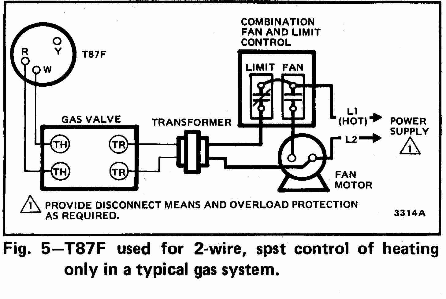 Room Thermostat Wiring Diagrams For Hvac Systems - Wiring Diagram For Thermostats