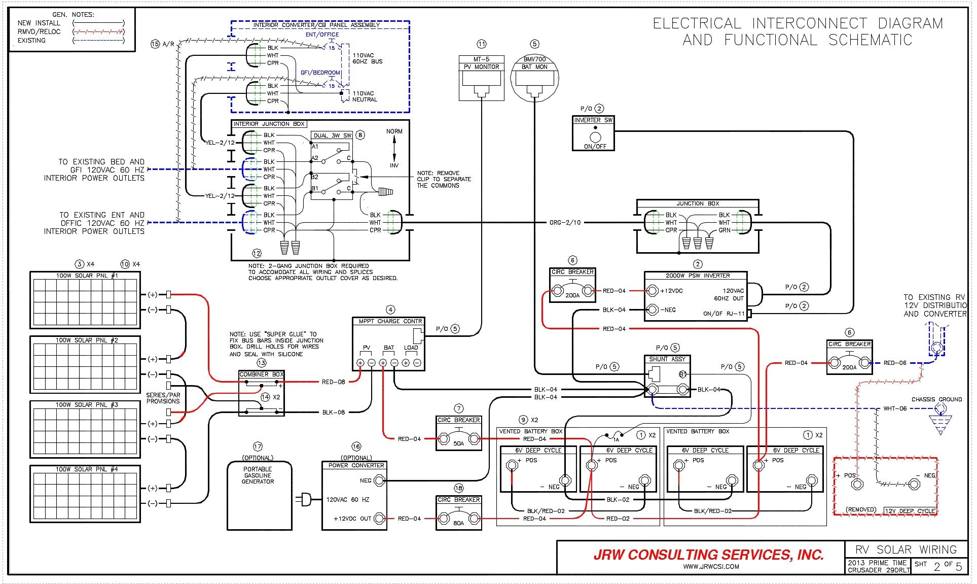 Rv Electric Wiring Diagram | Wiring Diagram - Rv Electrical Wiring Diagram