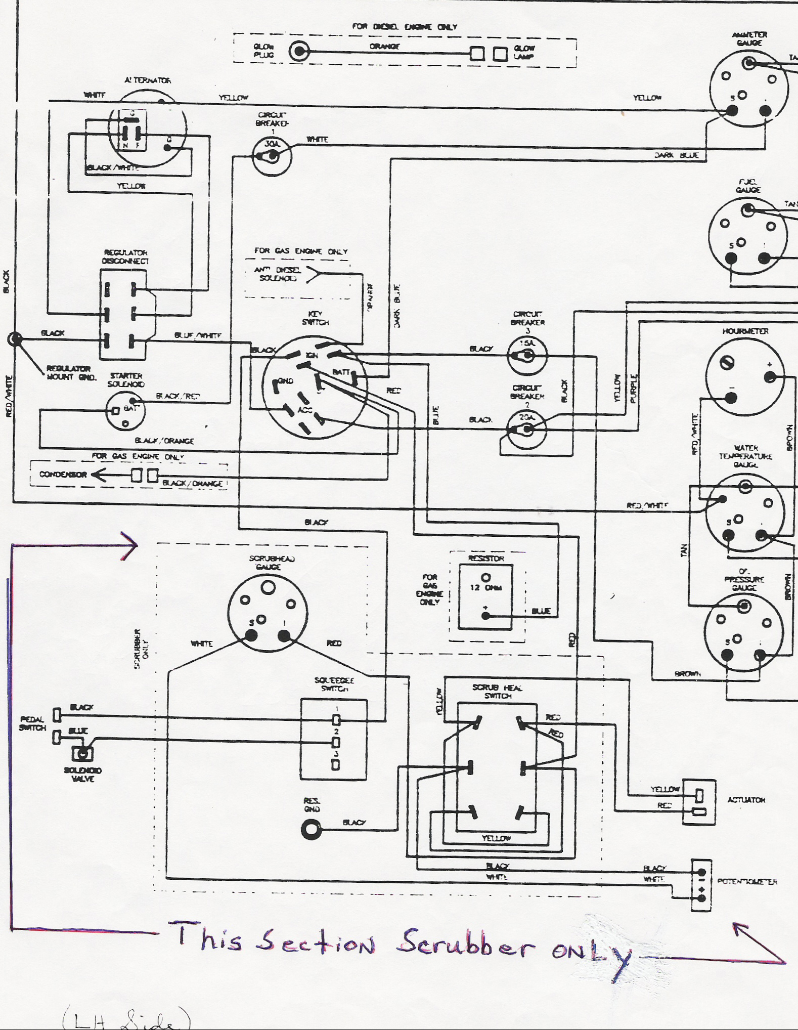 Rv Generator Wiring Diagrams | Wiring Diagram - Onan Generator Wiring Diagram