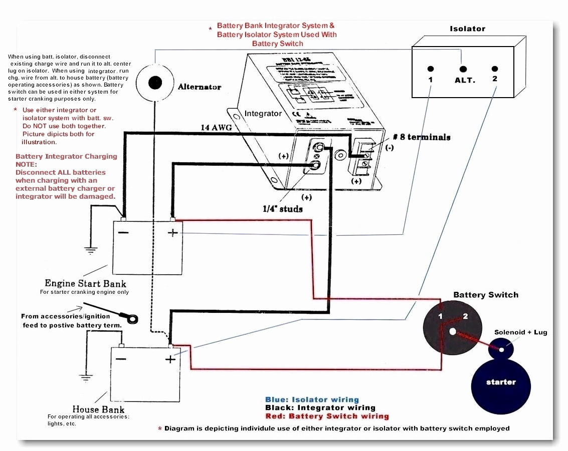 Rv Isolator Wiring Diagram | Manual E-Books - Rv Battery Isolator Wiring Diagram
