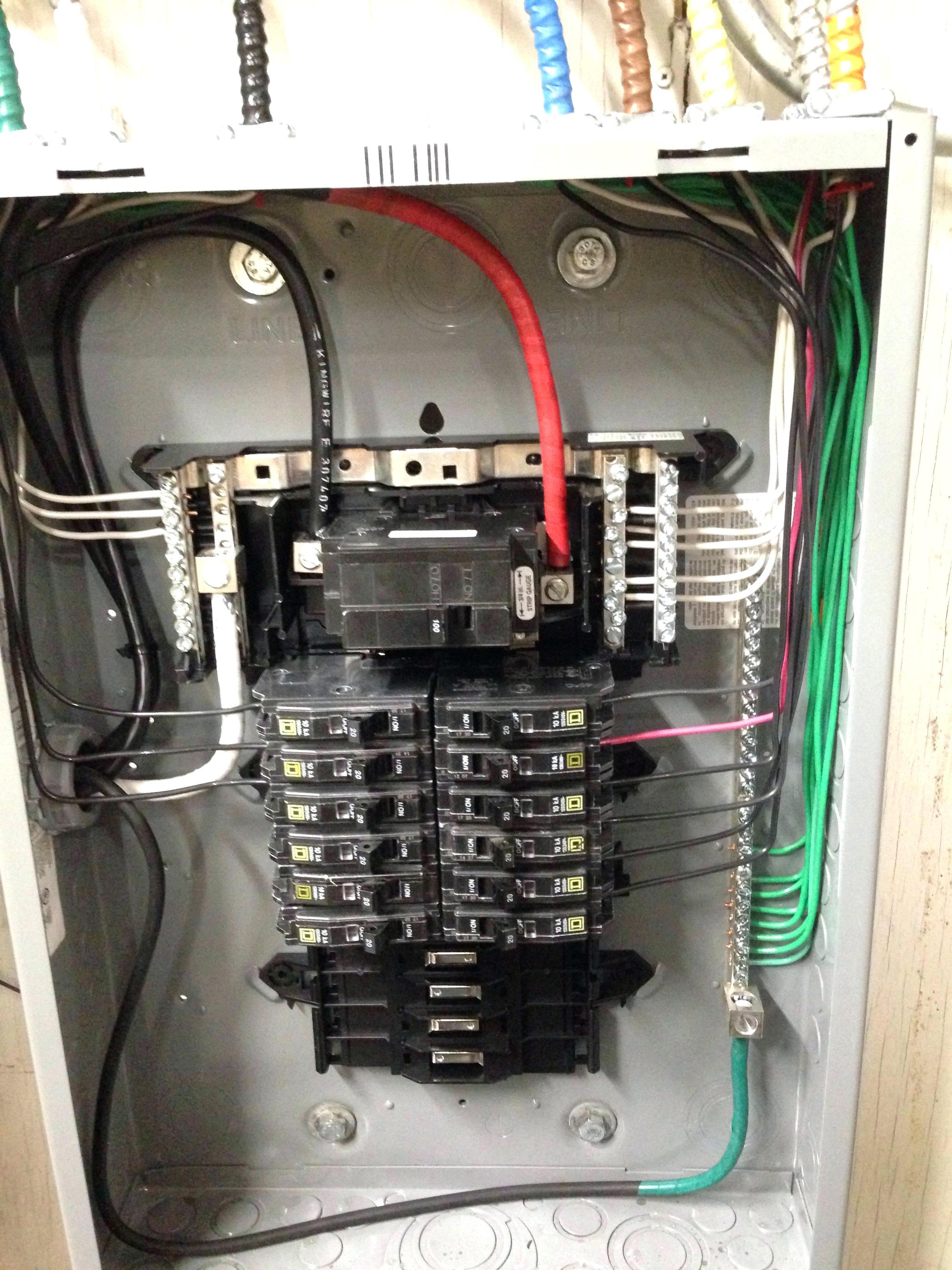 Schematic 100 Amp Breaker Box | Wiring Diagram - 100 Amp Sub Panel Wiring Diagram